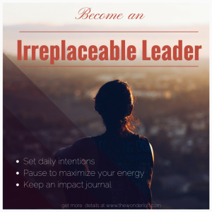Want to be an irreplaceable leader_Set-1